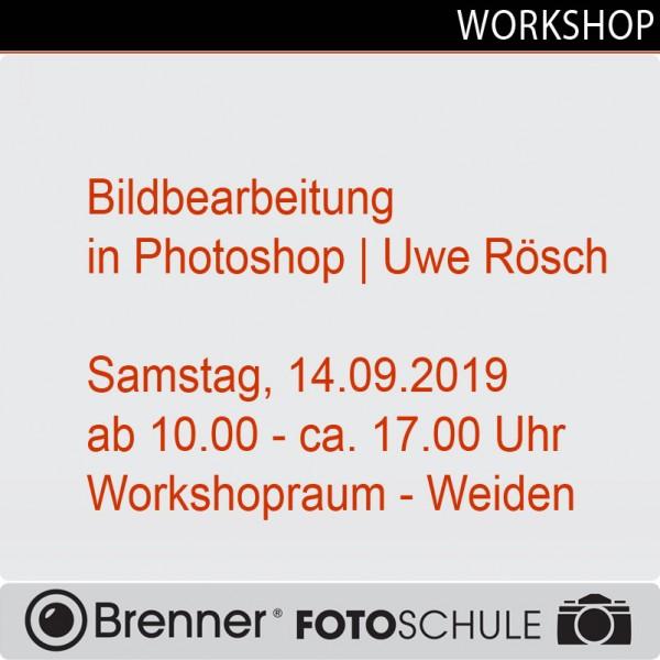 Bildbearbeitung in Photoshop mit Uwe Rösch