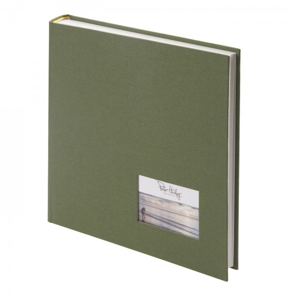 Peter Hadley Buchalbum 25x25cm, khaki