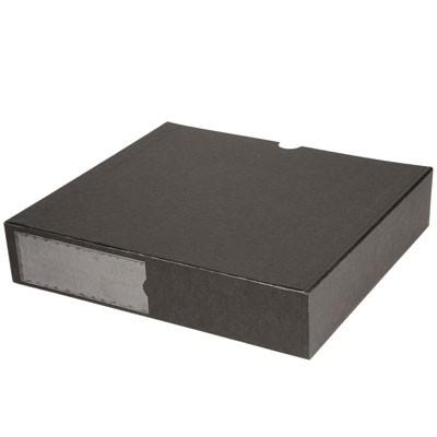 B.I.G. Staubschutzbox schwarz für Foto-Ordner 200