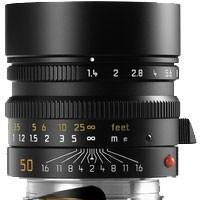 Leica Objektiv Summilux-M 1,4/50mm asph., schwarz