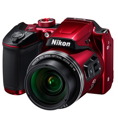 Nikon COOLPIX B500, rot