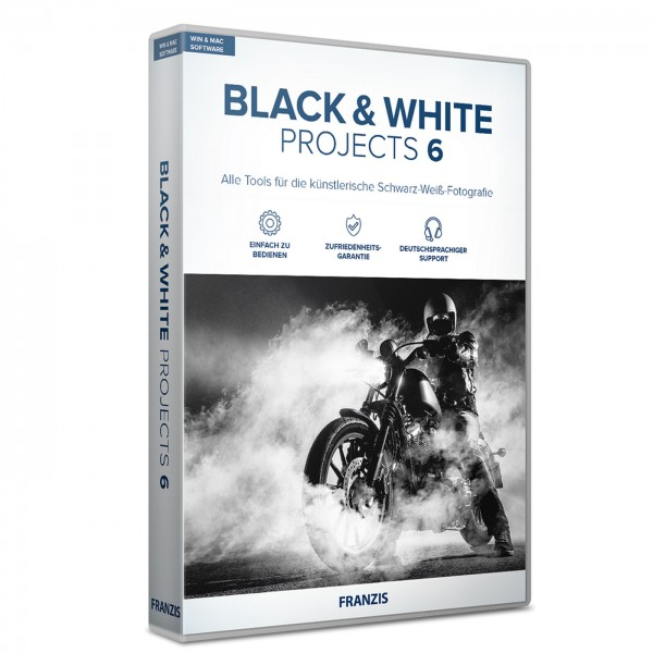 Franzis Black&White projects 6 Software