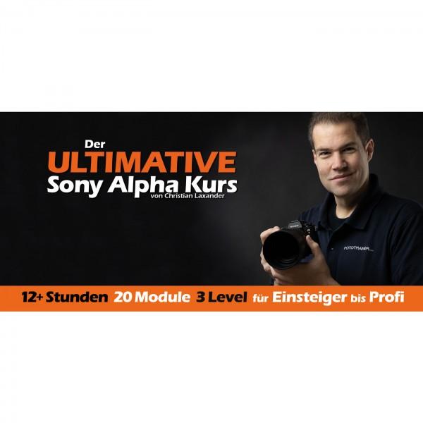 Der ULTIMATIVE Sony Alpha Kurs Komplettpaket
