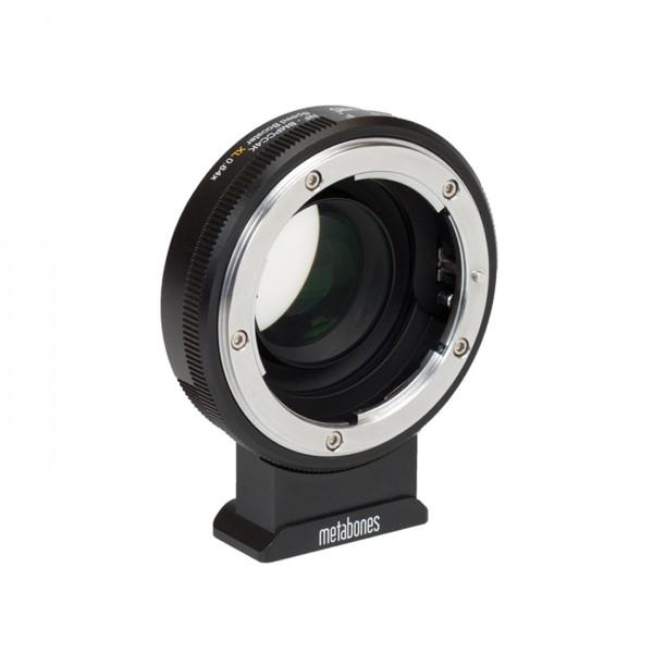 Metabones Speed Booster XL Nikon G an BMPCC4K