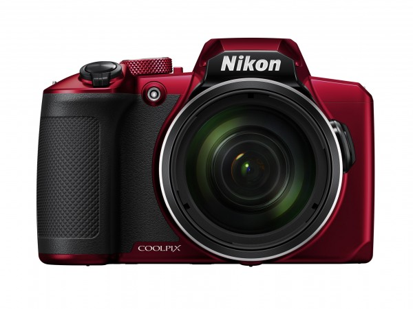 Nikon Coolpix B600, rot