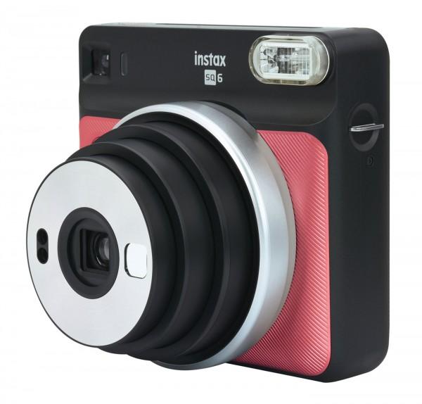 Fuji Instax SQUARE SQ6, Ruby Red Sofortbildkamera