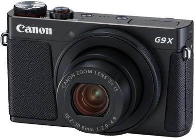 Canon PowerShot G9 X Mark II, schwarz