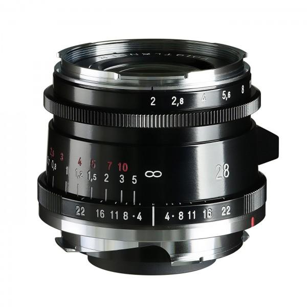 Voigtländer Ultron 2,0/28 mm VM Type II schwarz