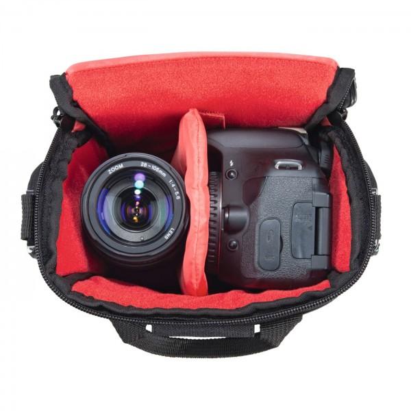 Hama Kameratasche Sambia 110, grau/schwarz
