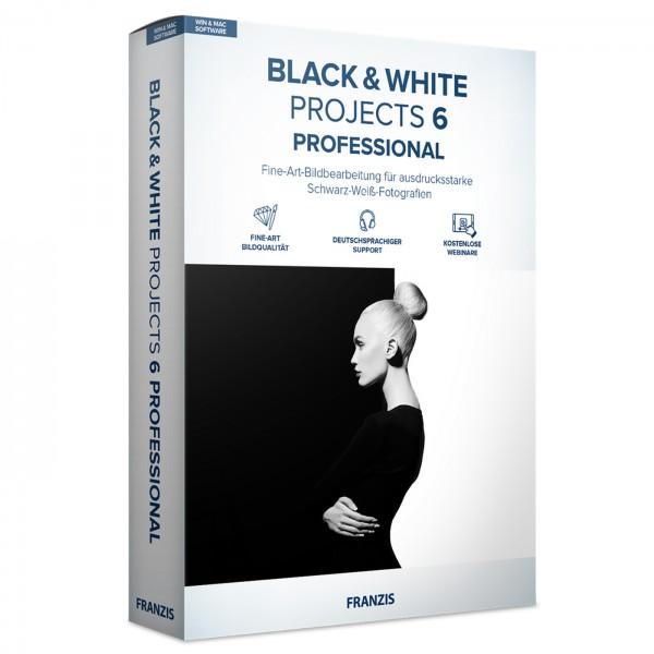 Franzis Black&White projects 6 profess. Software
