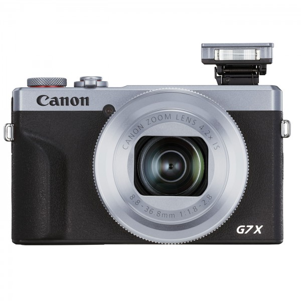 Canon PowerShot G7 X III, silber