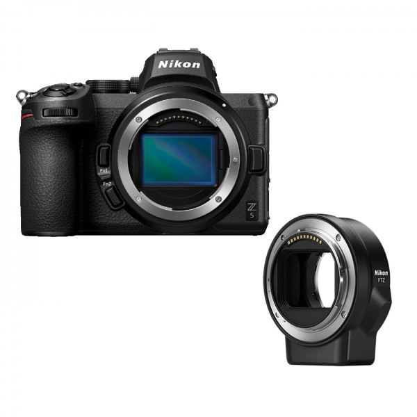 Nikon Z5 Gehäuse + FTZ Objektivadapter