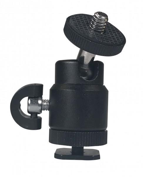 B.I.G. BH-MINI Mini-Kugelkopf mit Blitzfuß