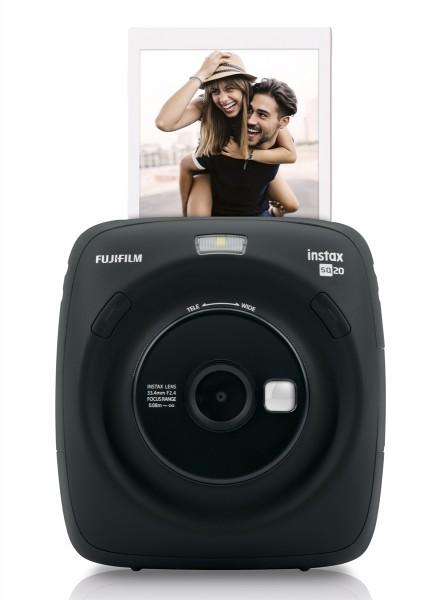 Fuji Instax SQUARE SQ20 schwarz, Sofortbildkamera