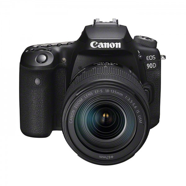 Canon EOS 90D Set+EF-S 3,5-5,6 /18-135 mm IS USM #