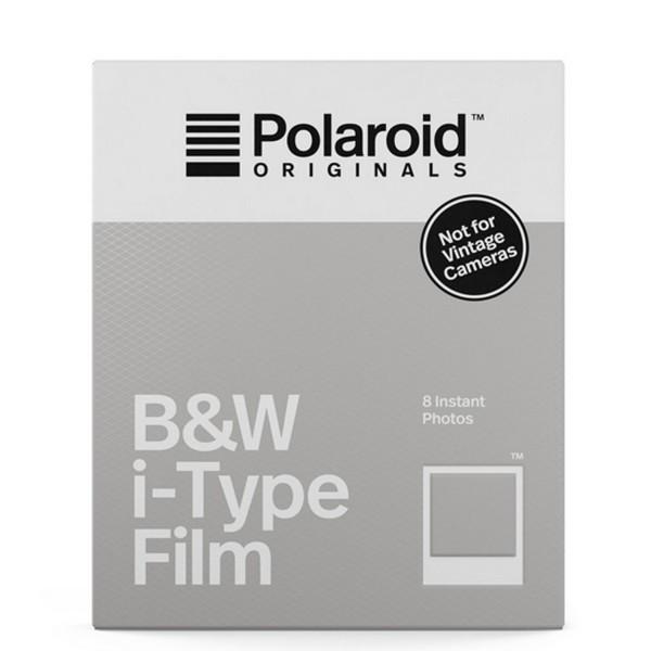 Polaroid Sofortbildfilm s/w für I-TYPE Kameras