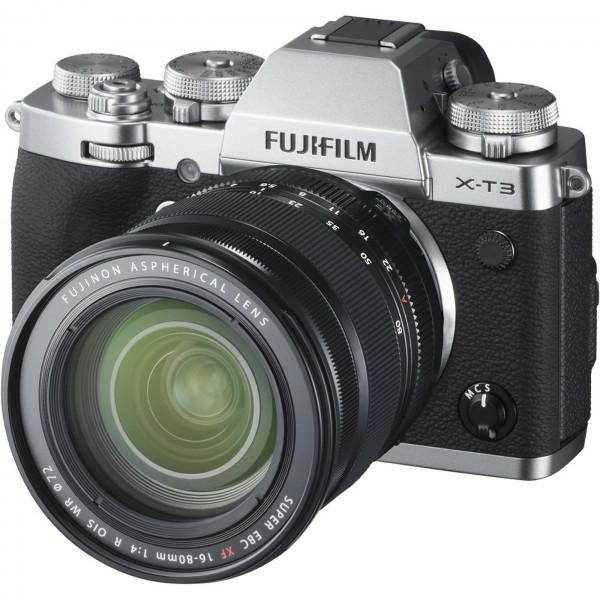 Fuji X-T3 Set + XF 16-80 mm, silber #