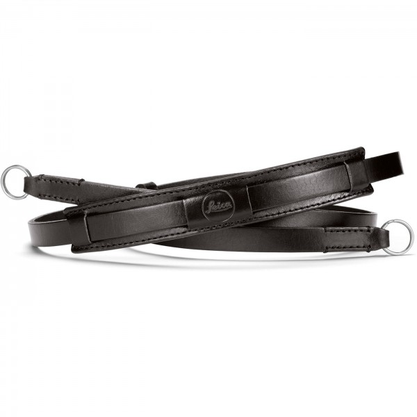 Leica Tragriemen vintage, Leder schwarz