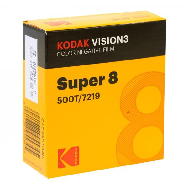 Kodak Vision3 500T 7219, 8 mm x 15 m Schmalfilm