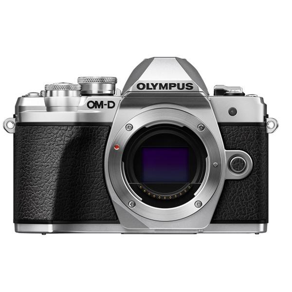 Olympus OM-D E-M10 Mark III Gehäuse, silber
