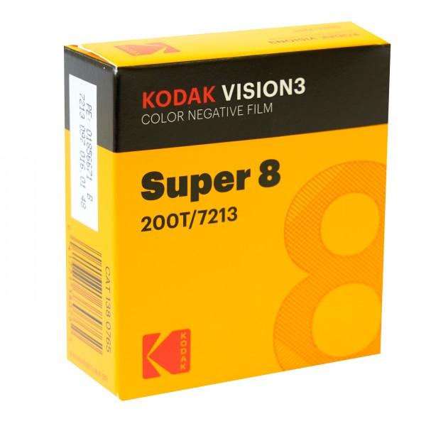 Kodak Vision3 200T 7213, 8 mm x 15 m Schmalfilm