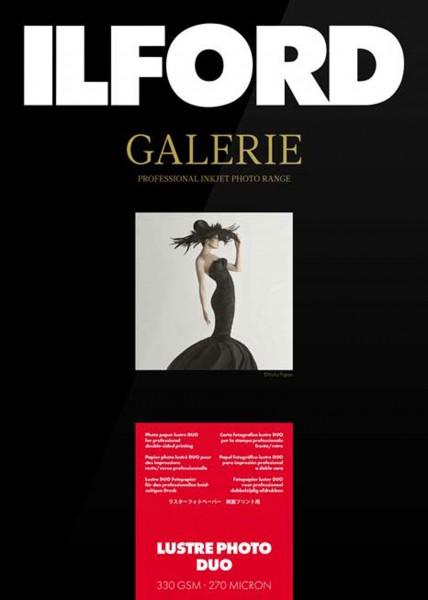 Ilford Galerie Lustre Photo Duo 330g 10x15 50Bl