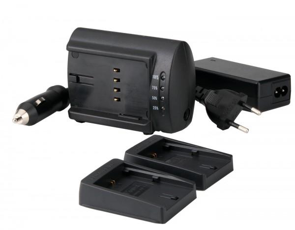 Delkin Dual Universal Charger Set für Canon NB-7L