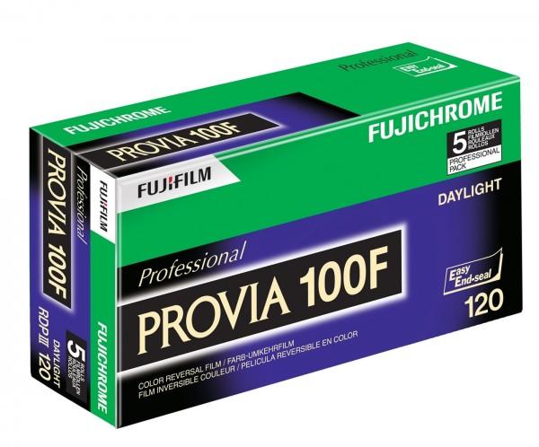 Fuji Chrome Provia 100F -120, 5er-Pack