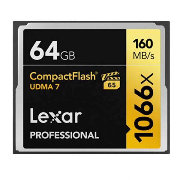 Lexar CF Professional UDMA 7 1066x 64GB