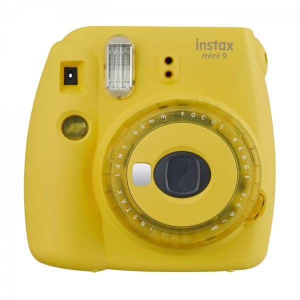 Fuji Instax mini 9 clear yellow limited edition