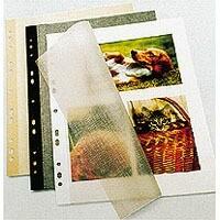 Herma Fotokarton schwarz 10 Bl. 23x30cm