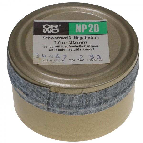 ORWO NP20 Schwarzweiß-Negativfilm 35mm x17m (1993)