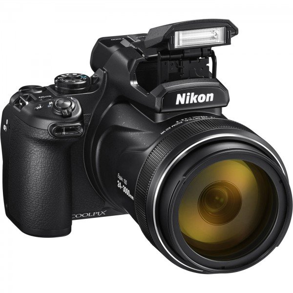 Nikon Coolpix P1000, schwarz