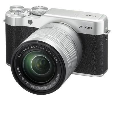Fuji X-A10 Set + XC 16-50mm schwarz/silber