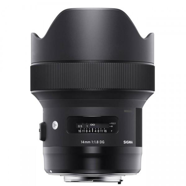 """Sigma 1,8/14mm DG HSM """"Art"""" für Canon EF"""