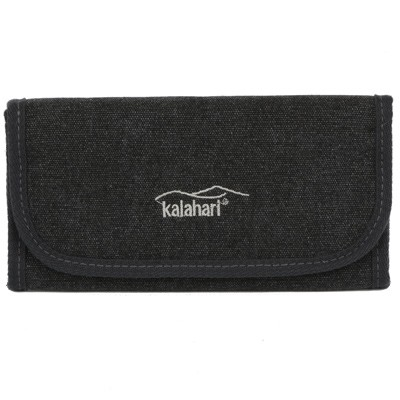 kalahari K-91 Filter-Etui, canvas schwarz