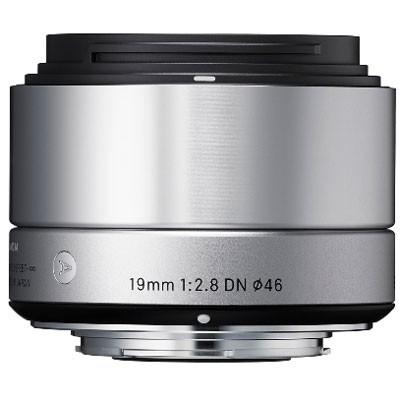 """Sigma 2,8/19mm DN """"Art"""" für MFT, silber"""