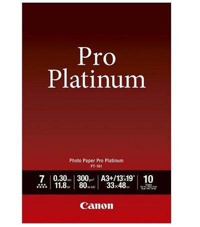 Canon PT-101 Fotopap.ProPlatinum 300g, A3+, 10 Bl.