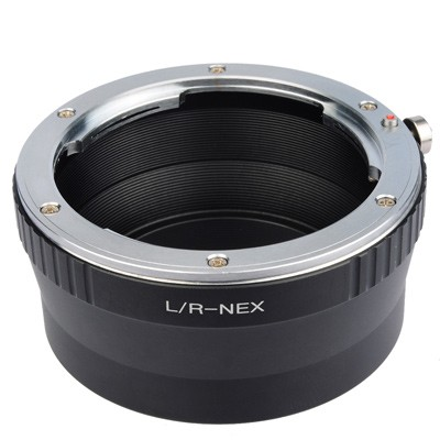B.I.G. Objektivadapter Leica R an Sony E