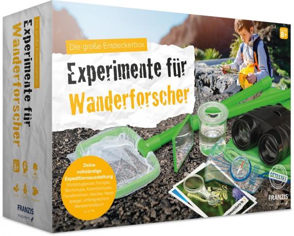 Experimente für Wanderforscher