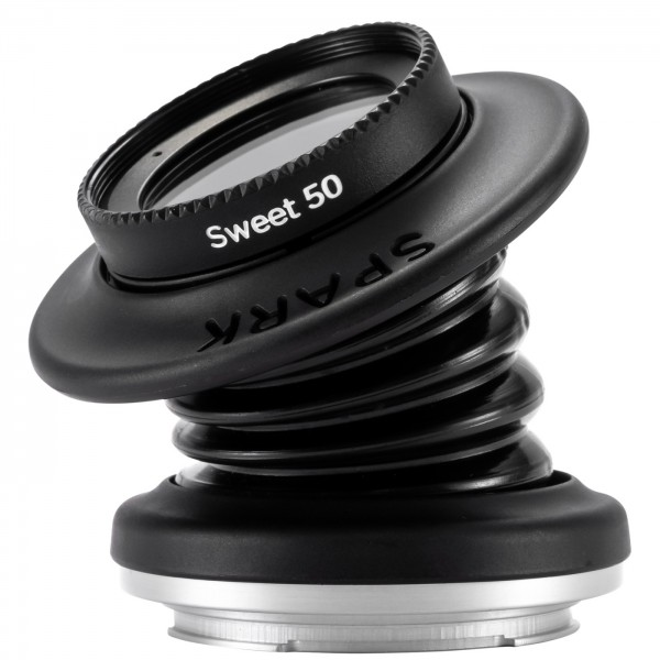 Lensbaby Spark 2.0 + Sweet 50 für Sony E