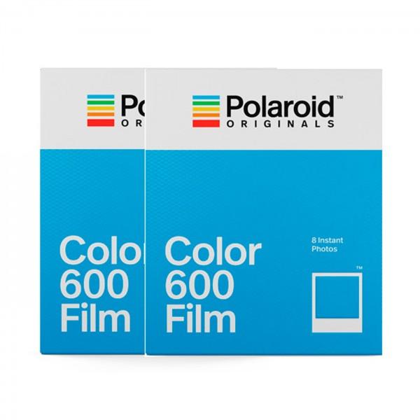 Polaroid Sofortbildfilm Color 600 DP 2x8 Aufnahmen
