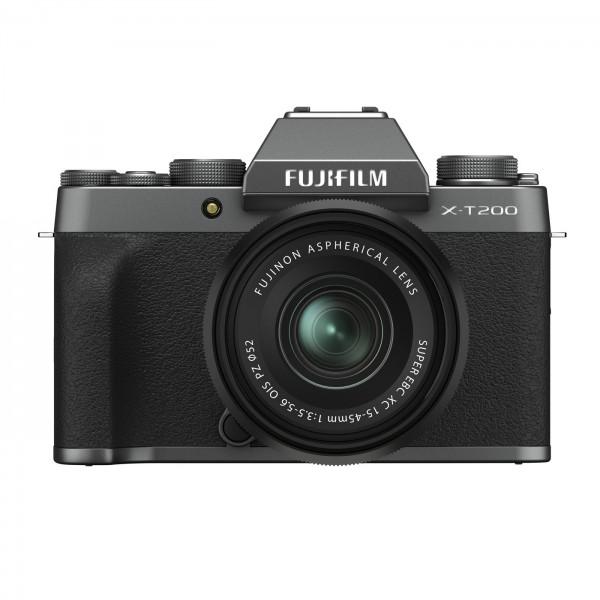 Fuji X-T200 Set + XC 15-45mm OIS PZ, dunkelsilber