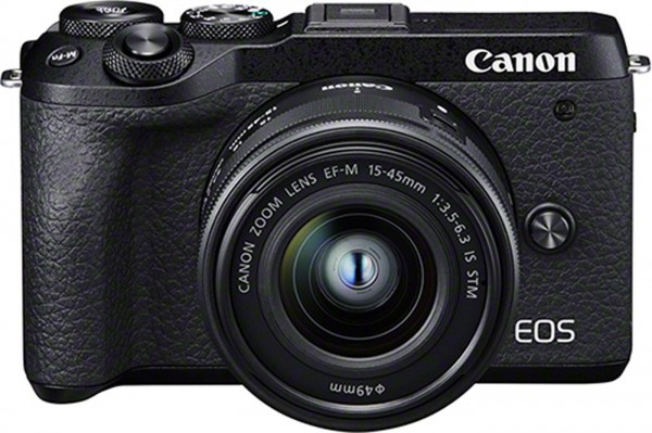 Canon EOS M6 Mark II Set + EF-M 15-45mm IS STM