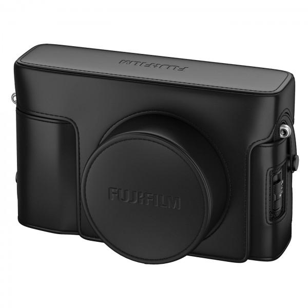 Fuji Ledertasche LC-X100V, schwarz