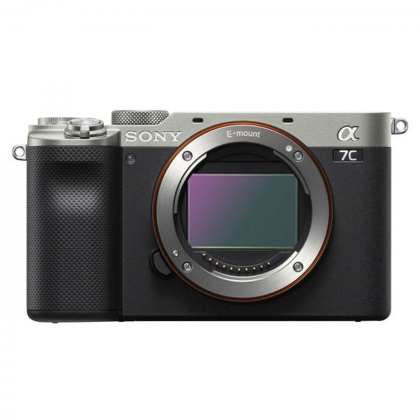 Sony alpha 7C Gehäuse, silber-schwarz