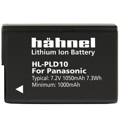 Hähnel Akku HL-PLD10 Typ Panasonic DMW-BLD10