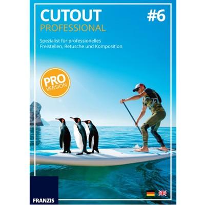 Franzis Cutout professional #6 Software