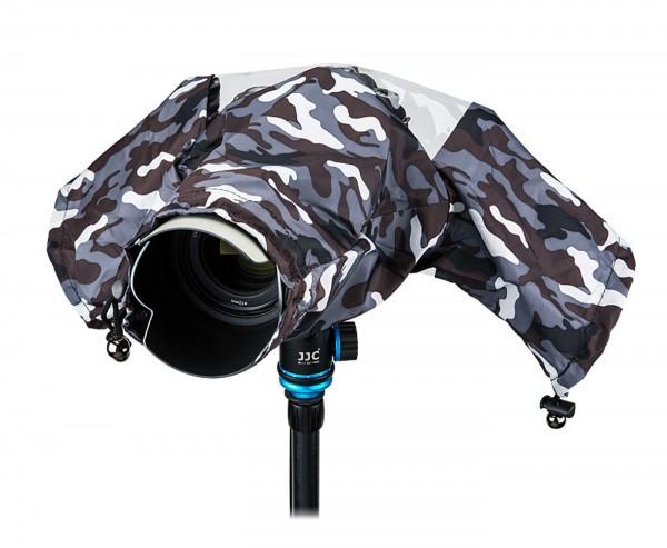 JJC RC-1GR Regenschutzhülle grau camouflage