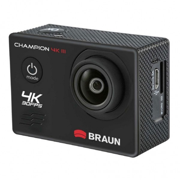 Braun Champion 4K III Waterproof Action Cam